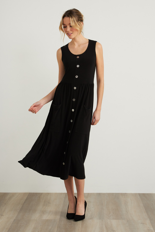 Joseph Ribkoff Midnight Blue Dresses Style 212156