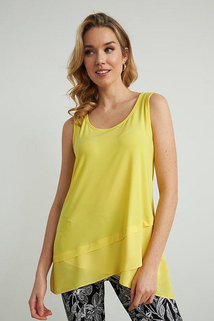 Joseph Ribkoff Tee-shirts et camisoles Zeste de citron Style 212157
