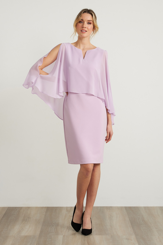 Joseph Ribkoff Robes Doux Lilas Style 212158