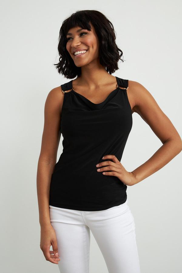Joseph Ribkoff Tee-shirts et camisoles Noir Style 212166