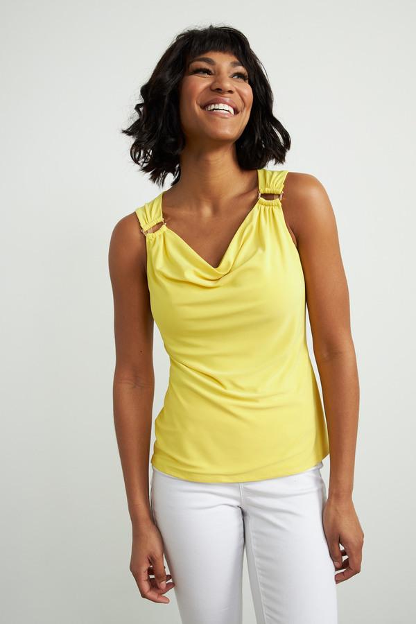 Joseph Ribkoff Tee-shirts et camisoles Zeste de citron Style 212166