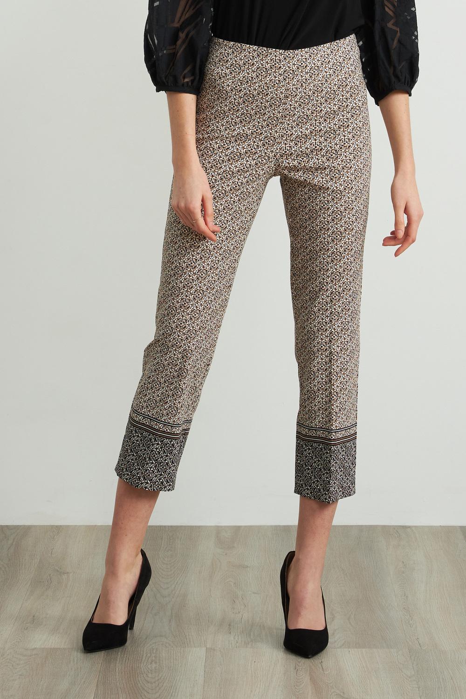 Joseph Ribkoff Pantalons Noir/Taupe Style 212167