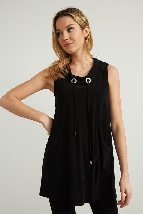 Joseph Ribkoff Tee-shirts et camisoles Noir Style 212175