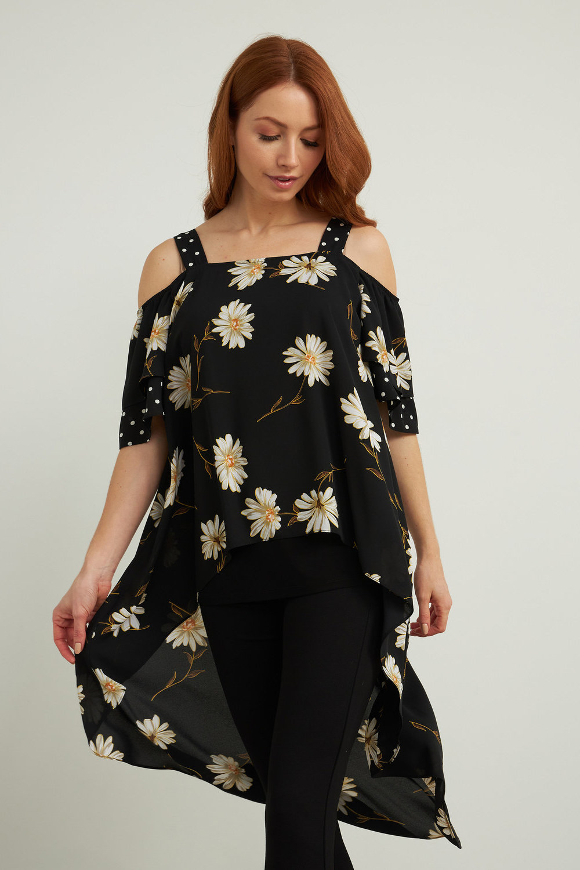 Joseph Ribkoff Chemises et blouses Noir/Multi Style 212192