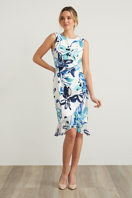 Joseph Ribkoff Floral Print Dress Style 212193