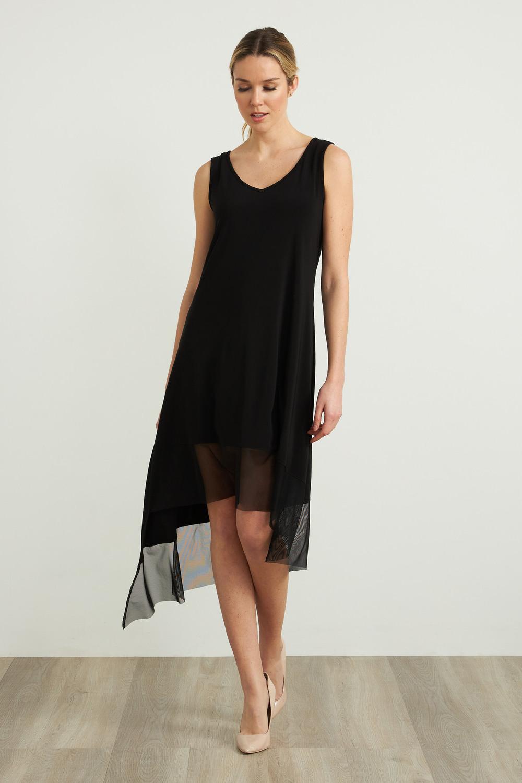 Joseph Ribkoff Black Dresses Style 212195