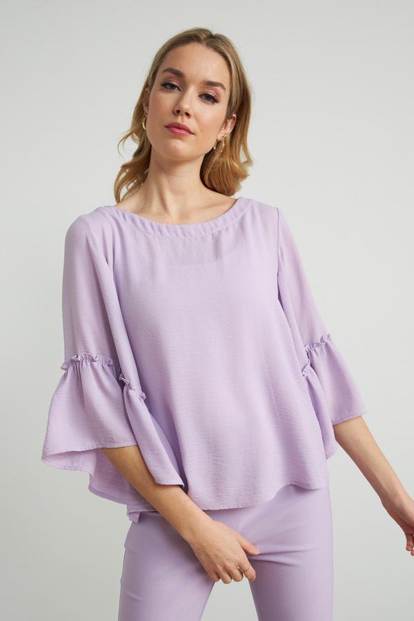 Joseph Ribkoff Sweet Lilac Shirts & Blouses Style 212213