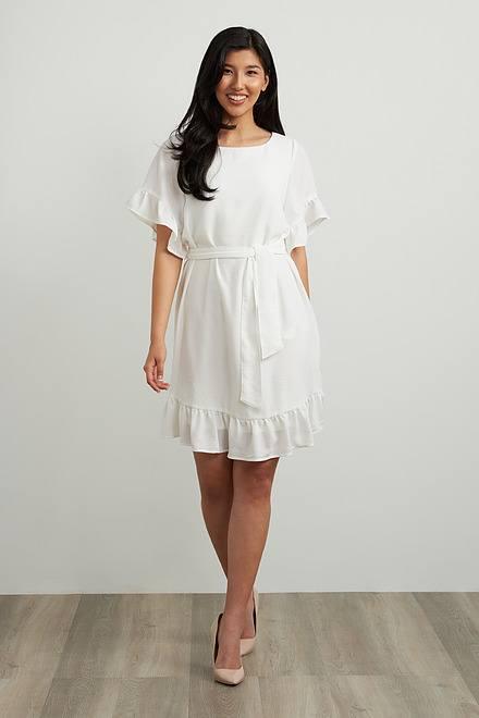 Joseph Ribkoff Ruffle Sleeve Dress Style 212217