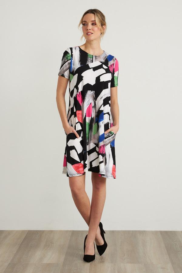 Joseph Ribkoff Abstract Print Dress Style 212224