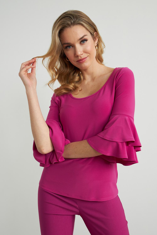 Joseph Ribkoff Orchid Shirts & Blouses Style 212236