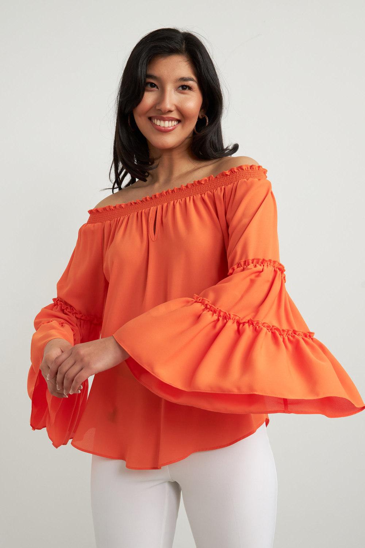 Joseph Ribkoff Chemises et blouses Tangerine Style 212240
