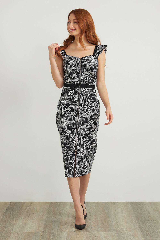 Joseph Ribkoff Black/White Dresses Style 212241