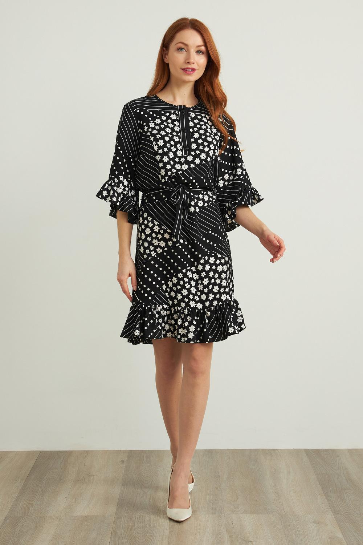 Joseph Ribkoff Robes Noir/Blanc Style 212249