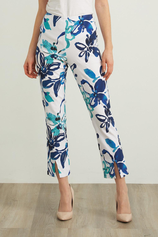 Joseph Ribkoff Pantalons Vanille/Multi Style 212263