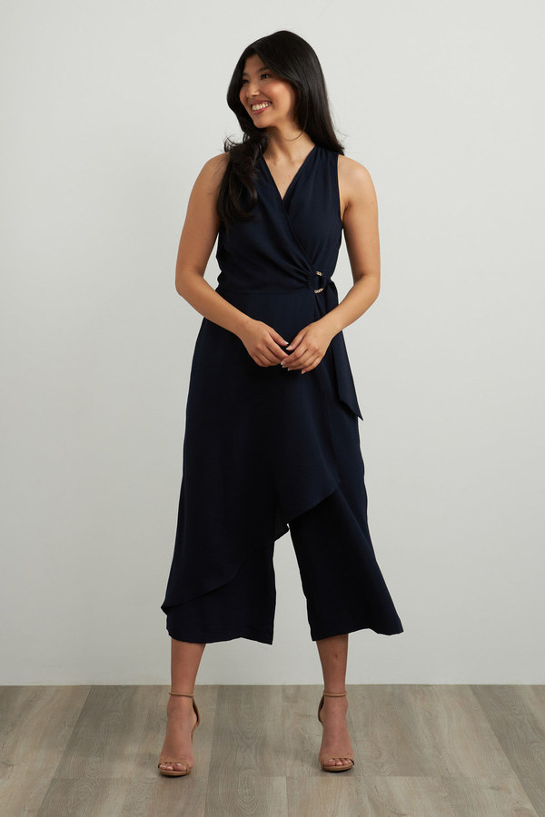 Joseph Ribkoff Midnight Blue Jumpsuits Style 212264
