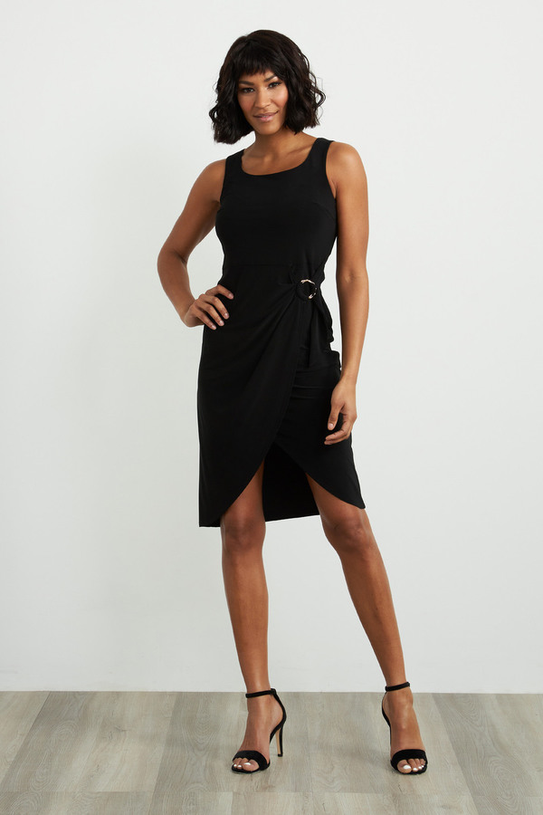Joseph Ribkoff Black Dresses Style 212265