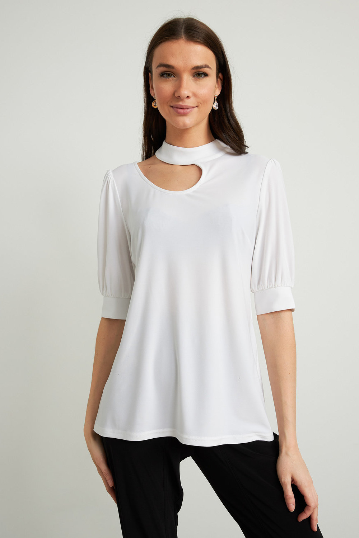 Joseph Ribkoff Chemises et blouses Vanille 30 Style 212277