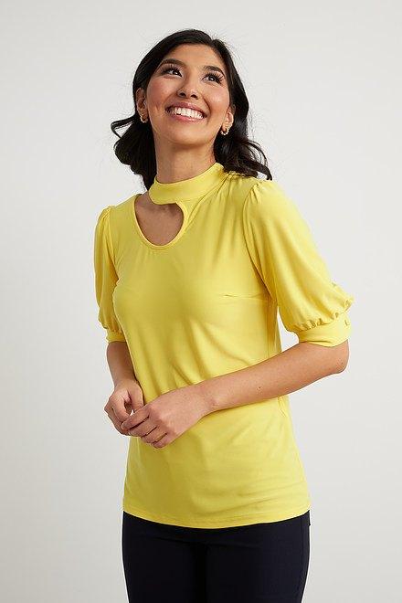 Joseph Ribkoff Chemises et blouses Zeste de citron Style 212277