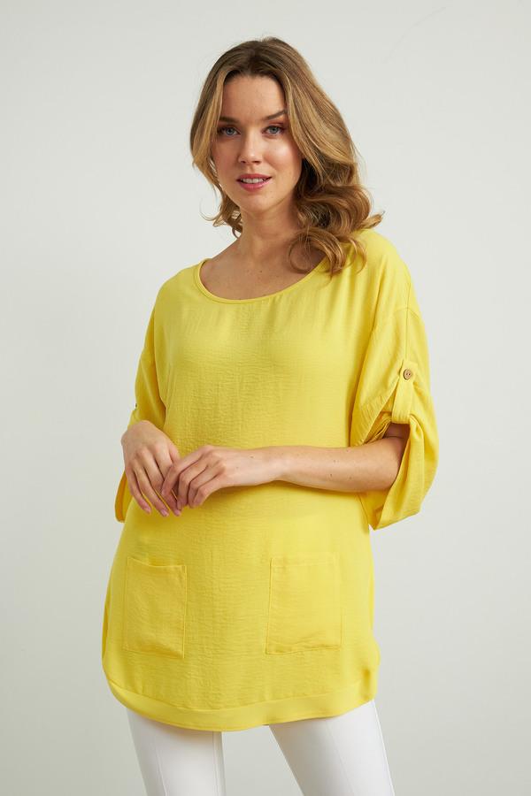 Joseph Ribkoff Lemon zest Tunics Style 212280