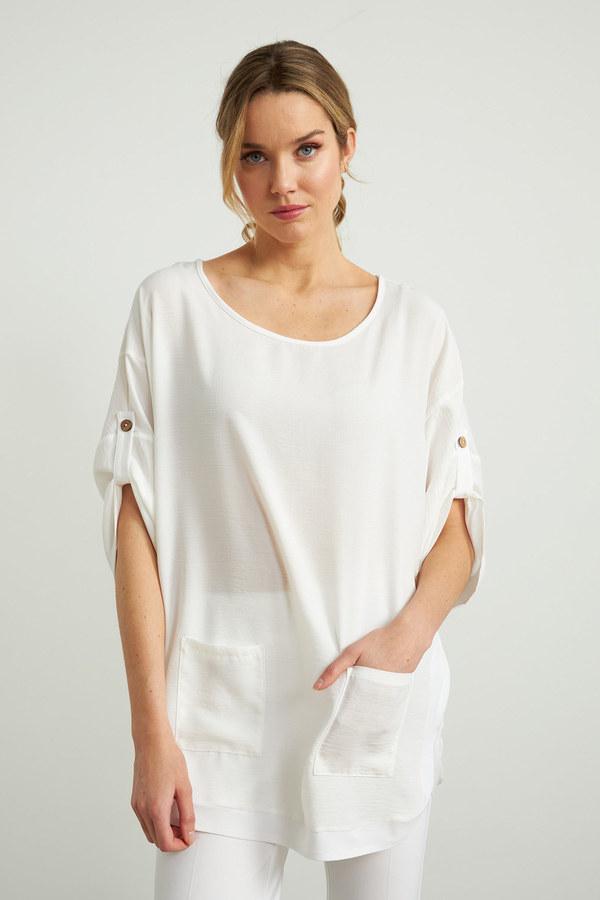 Joseph Ribkoff Tuniques Blanc Style 212280