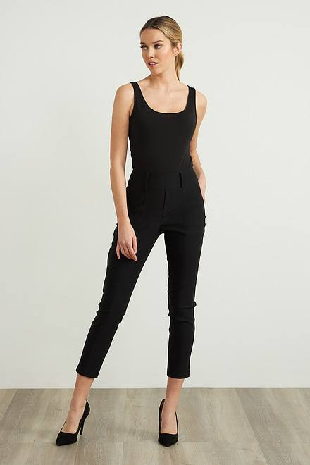 Joseph Ribkoff Pantalons Noir Style 212282
