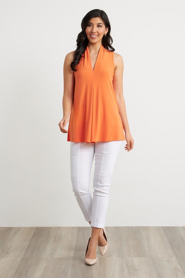Joseph Ribkoff Pantalons Blanc Style 212282