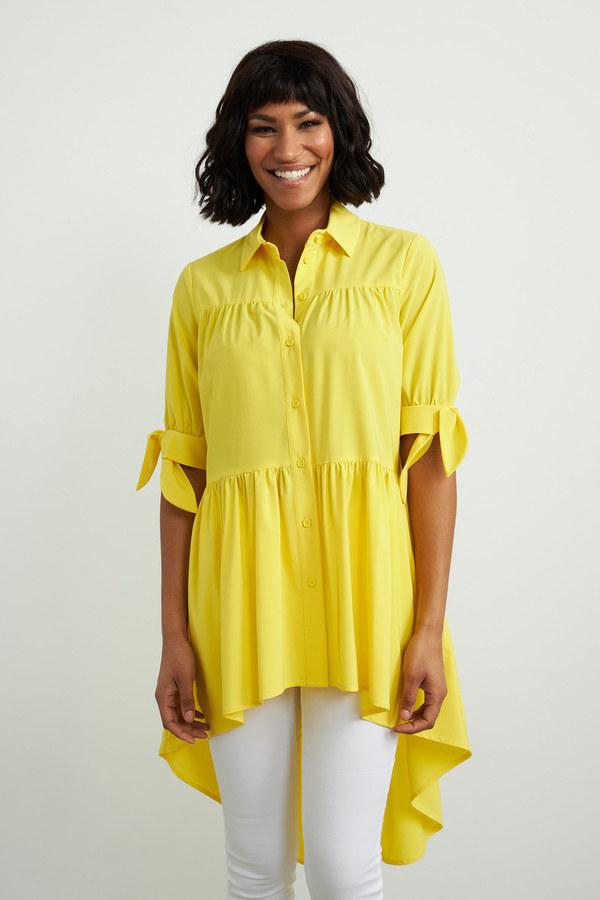 Joseph Ribkoff Lemon zest Shirts & Blouses Style 212285