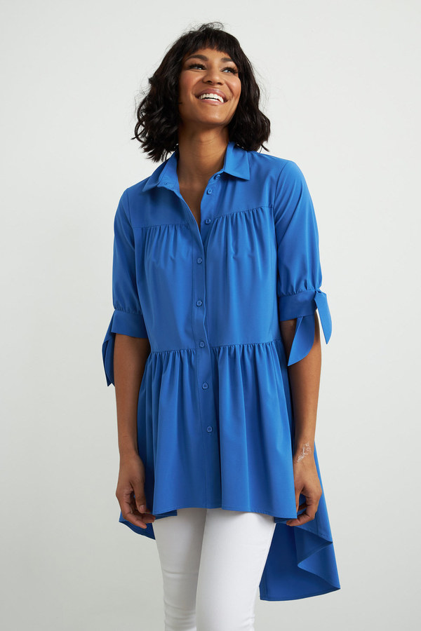 Joseph Ribkoff Aegean Sea Shirts & Blouses Style 212285
