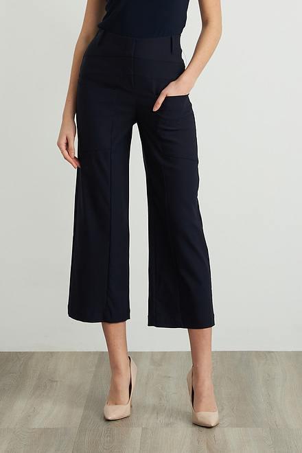 Joseph Ribkoff Wide Leg Cropped Pants Style 212286