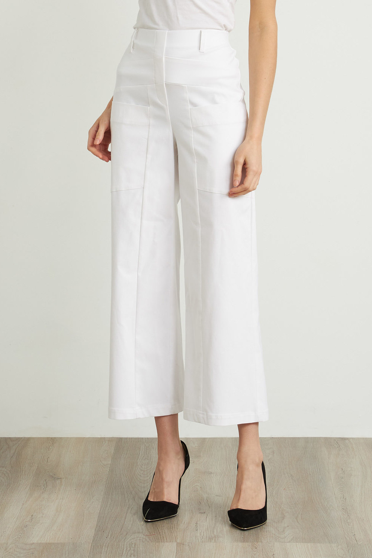 Joseph Ribkoff White Pants Style 212286