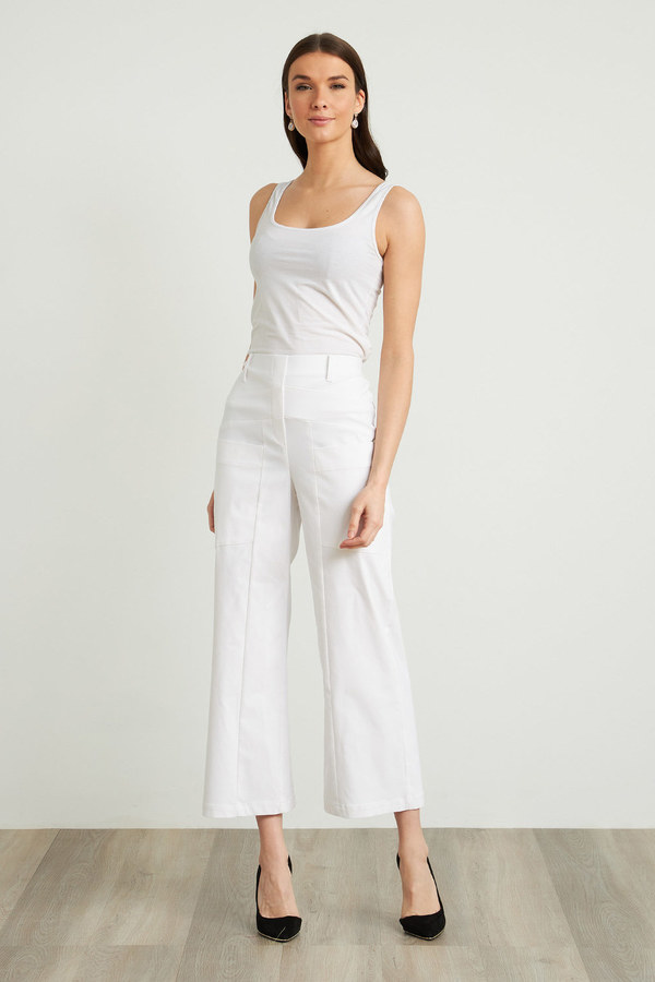 Joseph Ribkoff Pantalons Blanc Style 212286