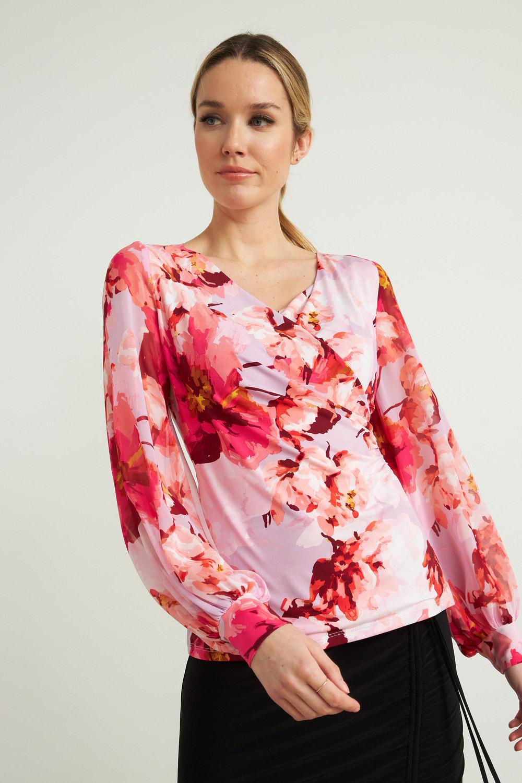 Joseph Ribkoff Chemises et blouses Lilas Doux / Multi Style 212288
