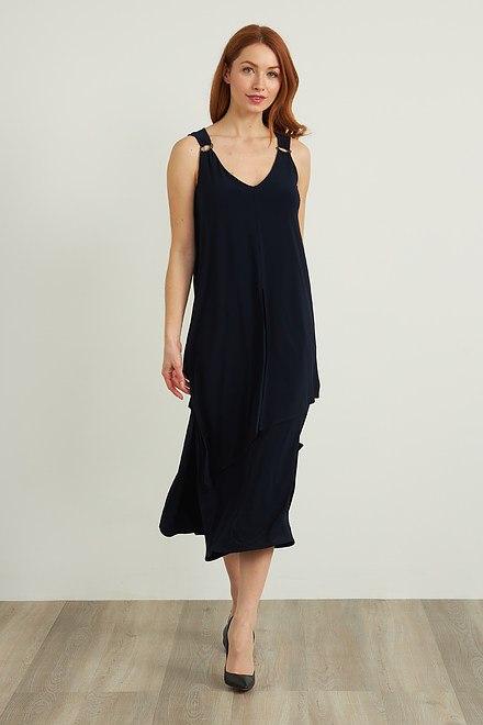 Joseph Ribkoff Robes Bleu Minuit 40 Style 212301