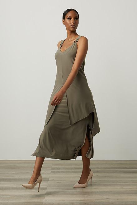 Joseph Ribkoff Ring Accent Maxi Dress Style 212301