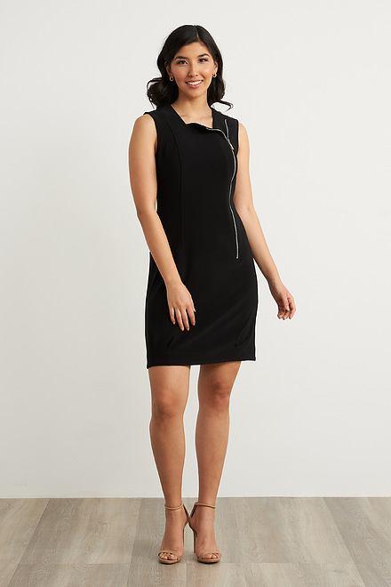 Joseph Ribkoff Side Zip Dress Style 212306