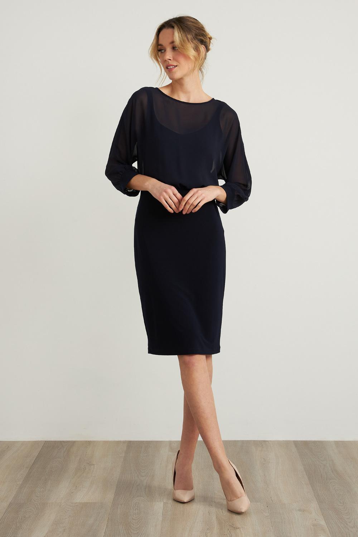 Joseph Ribkoff Black Dresses Style 212309