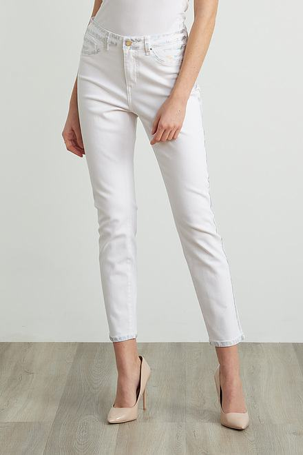 Joseph Ribkoff Distressed Detail Pants Style 212908