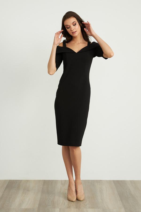 Joseph Ribkoff Black Dresses Style 203645