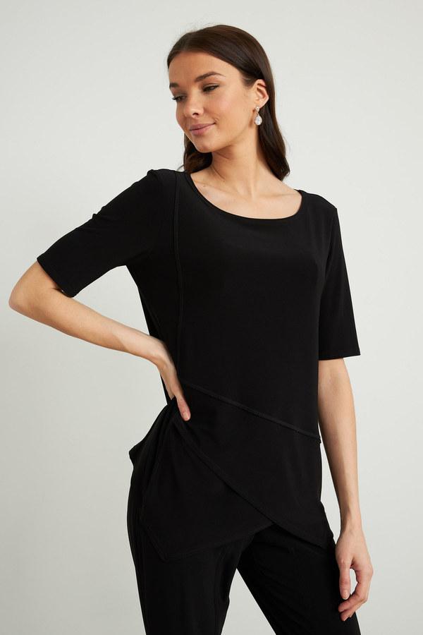 Joseph Ribkoff Black Tees & Camis Style 212023
