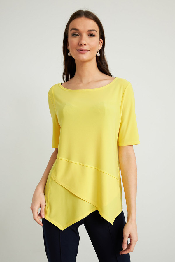 Joseph Ribkoff Tee-shirts et camisoles Zeste de citron Style 212023