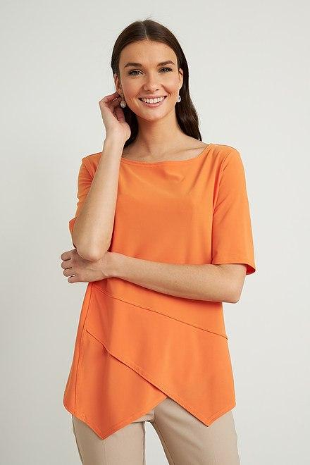 Joseph Ribkoff Tangerine Tees & Camis Style 212023