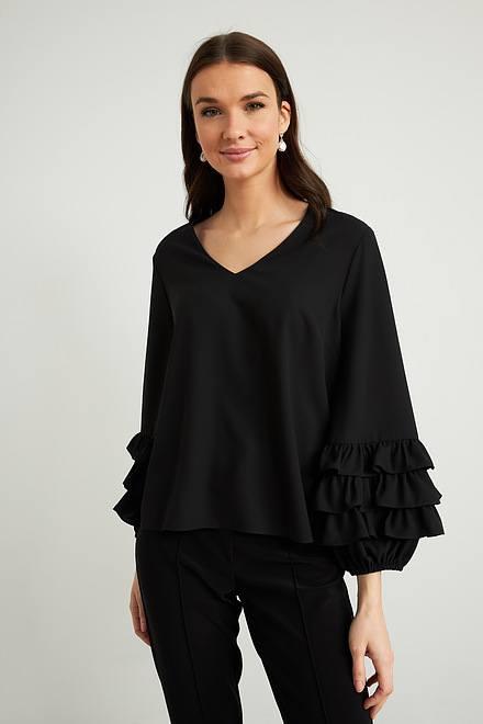 Joseph Ribkoff Black Shirts & Blouses Style 212030