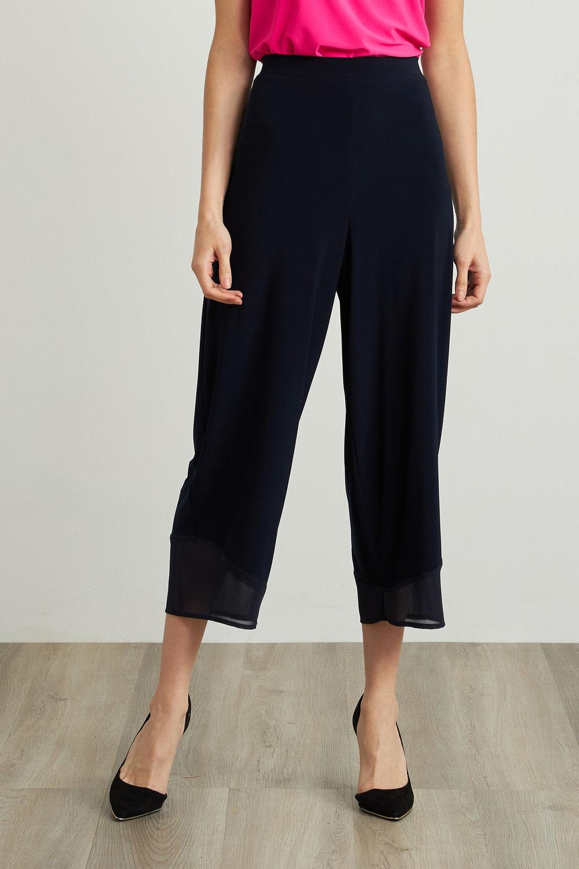 Joseph Ribkoff Pantalons Bleu Minuit 40 Style 212036