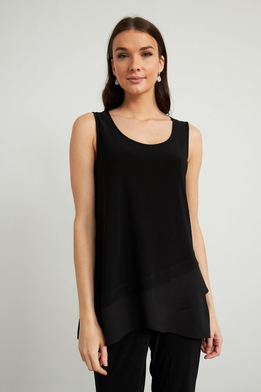 Joseph Ribkoff Black Tees & Camis Style 212157