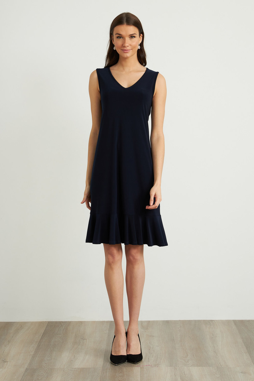 Joseph Ribkoff Robes Bleu Minuit 40 Style 212204