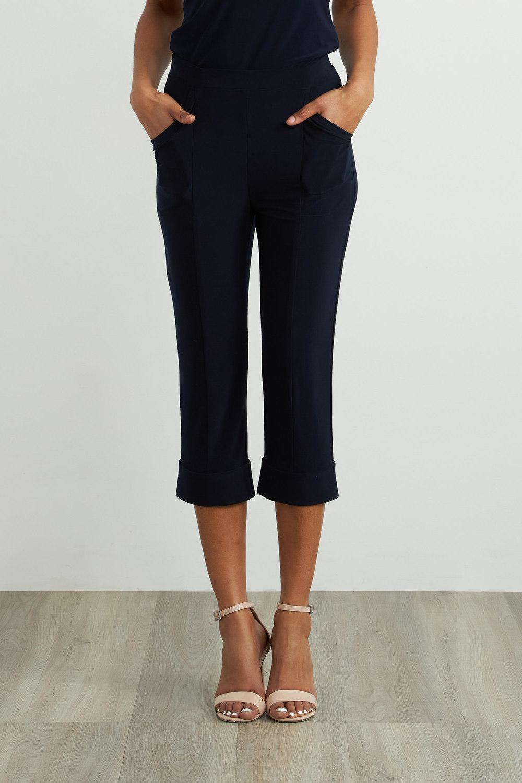 Joseph Ribkoff Pantalons Bleu Minuit 40 Style 212223