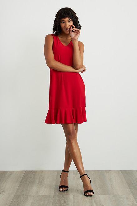 Joseph Ribkoff Lipstick Red 173 Dresses Style 212204