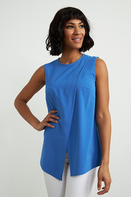 Joseph Ribkoff Pleated Front Top Style 212182