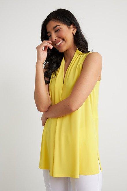 Joseph Ribkoff Chemises et blouses Zeste de citron Style 212184