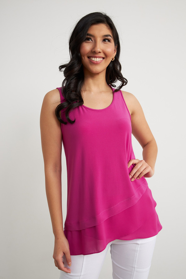 Joseph Ribkoff Orchid Tees & Camis Style 212157